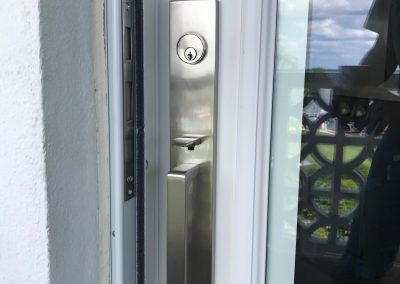 Emtek handlest for front entry door