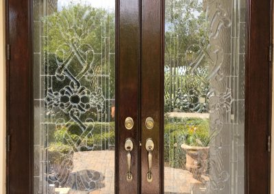 Schlage handleset for front entry doors